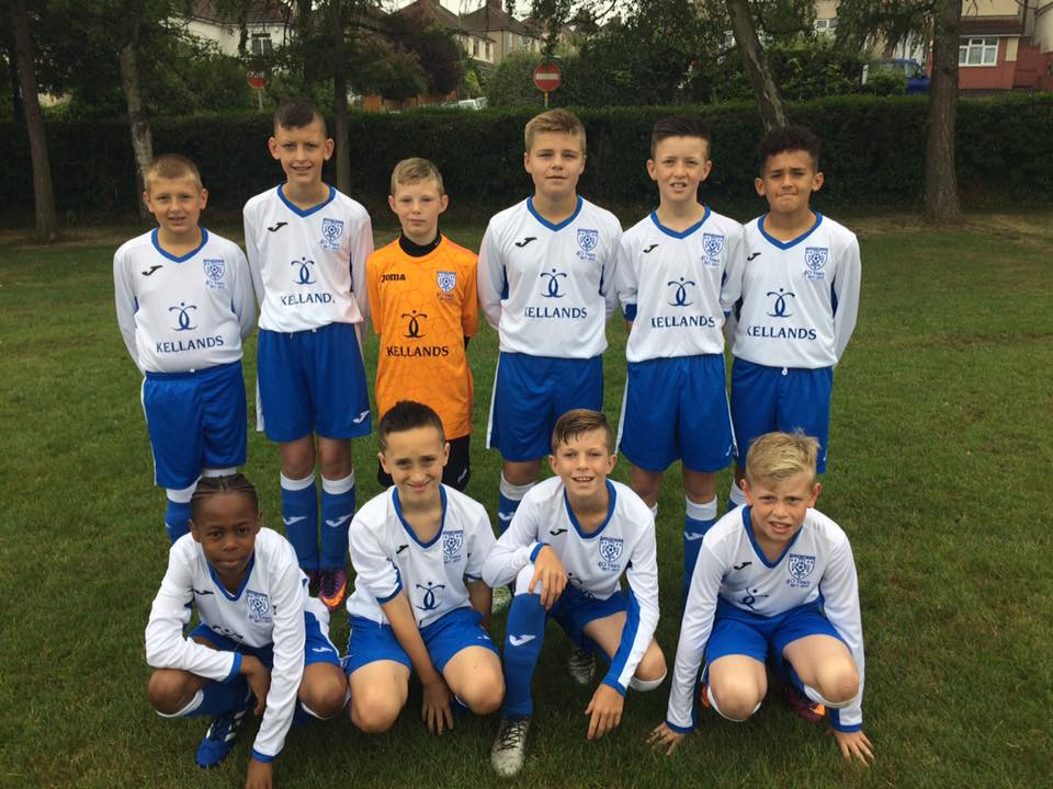 Kellands Bristol proud sponsors of Whitchurch Sports Under 12s