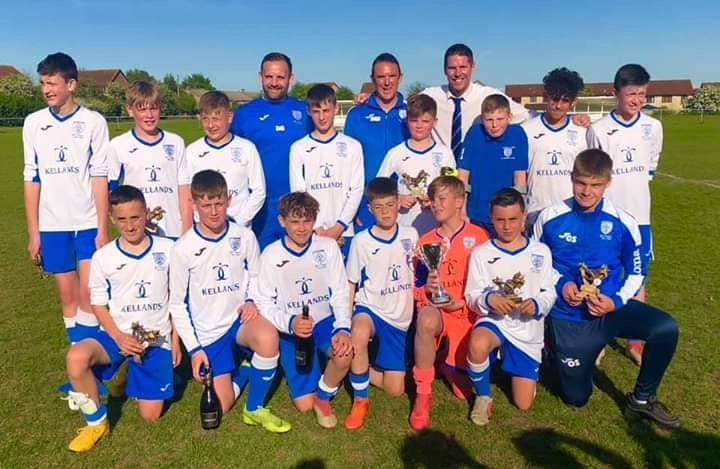 Whitchurch U13s win the cup